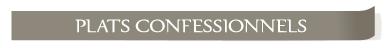 Plats confessionnels